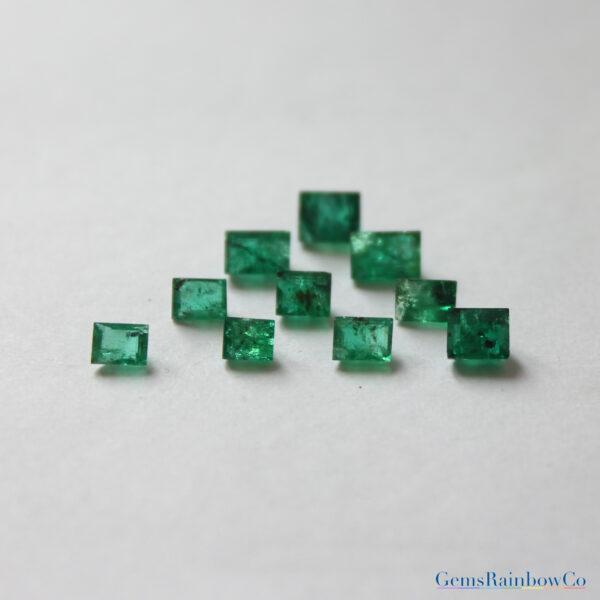 Emerald Stone Baguette