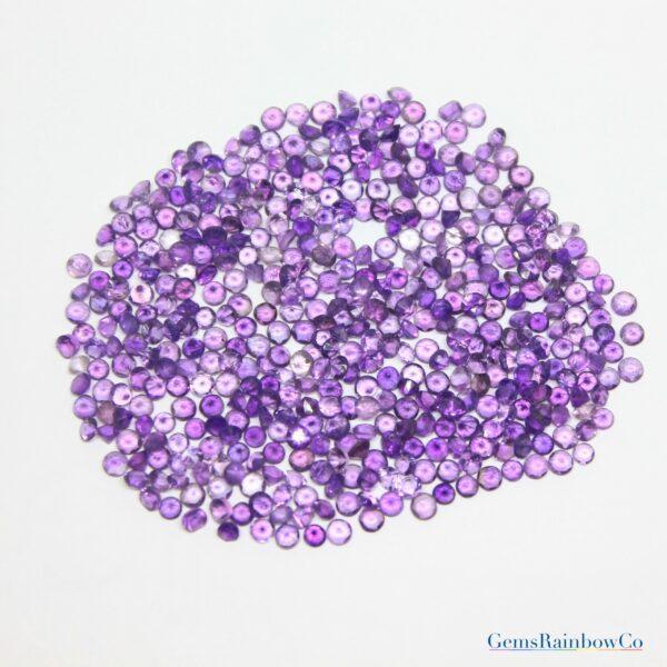 Amethyst Stone Round