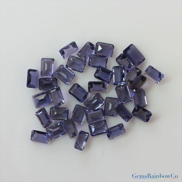 Iolite gemstone5mm